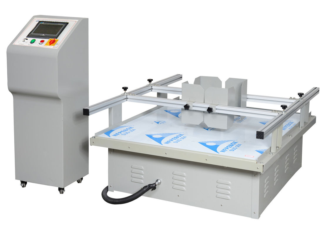 Carton Simulation Transportation Vibration Test Machine For ISTA Packaging Testing